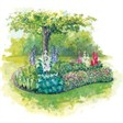База отдыха Снежинка - иконка «сад» в Новичихе